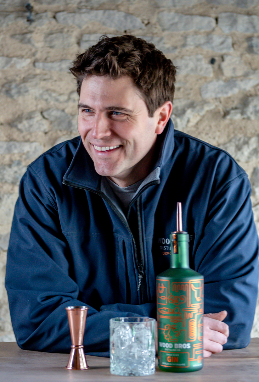 Creative Headshot of Ed from Wood Bros Distillery by Bruna Balodis Photography