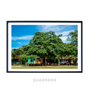 Wall Art print - Trancoso Square in Bahia Brasil - Bahia Brasil - By Bruna Balodis Photography