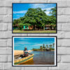 Wall Art print - Trancoso Square in Bahia Brasil - Bahia Brasil - By Bruna Balodis Photography