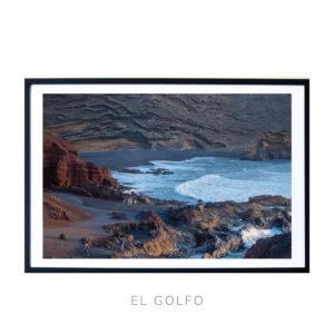 El Golfo beach in Lazarotti Canary Islands Fine art Piece